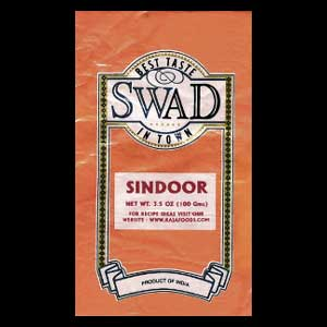 Swad brand sindoor contains high levels of lead